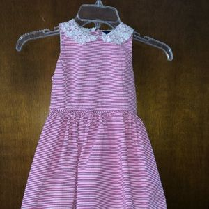 Polo by Ralph Lauren pink seersucker dress. Size 5